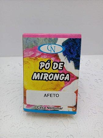 PÓ DE MIRONGA AFETO