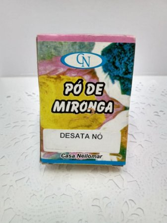 PÓ DE MIRONGA DESATA NÓ