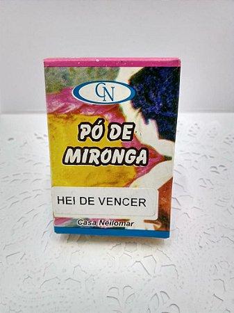 PÓ DE MIRONGA HEI DE VENCER