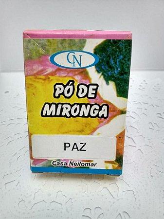 PÓ DE MIRONGA PAZ