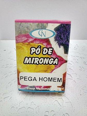 PÓ DE MIRONGA PEGA HOMEM