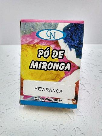 PÓ DE MIRONGA REVIRANÇA