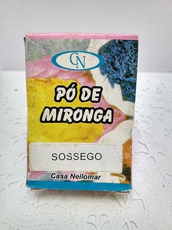 PÓ DE MIRONGA SOSSEGO