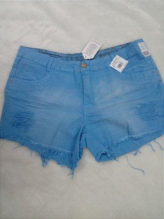 Shorts Sarja S/ Lycra 092196
