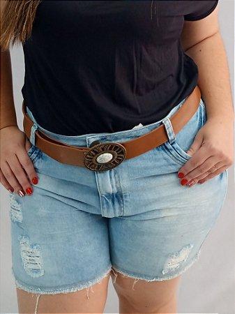 Shorts Jeans S/ Lycra Desfiado 092446