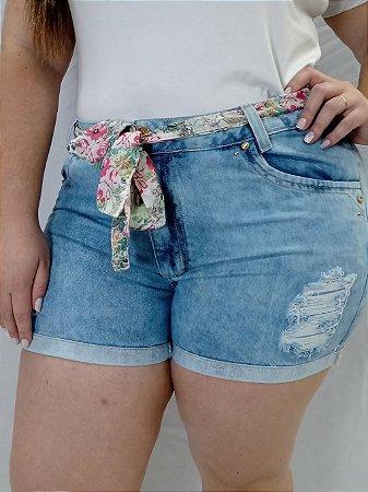 Shorts Jeans S/ Lycra 091977