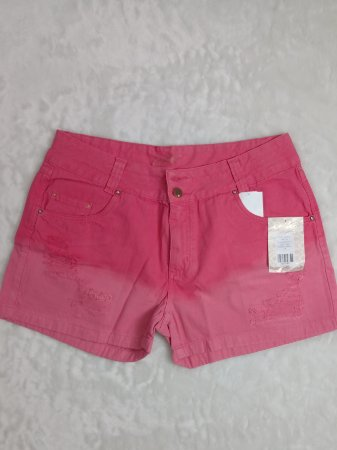 Shorts Sarja S/ Lycra Desfiado 092374