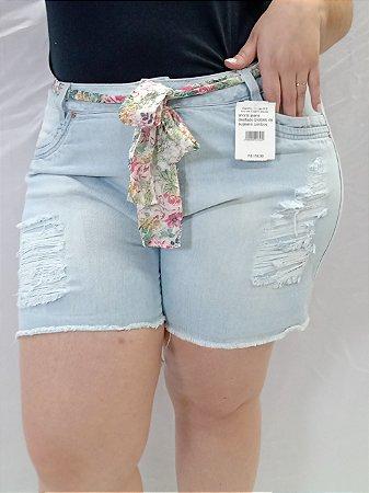 Shorts Jeans S/ Lycra Desfiado 092085