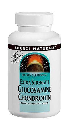 Glucosamine Chondroitin c/MSM - Source Naturals - 60 tablets