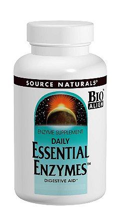 ESSENTIAL ENZYMES, DAILY - Enzimas Digestivas - 60 Cápsulas - Source Naturals