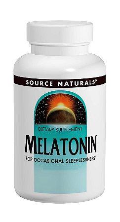 SLEEP SCIENCE MELATONINA 2mg Time Release - Source Naturals - Ajuda a promover o sono