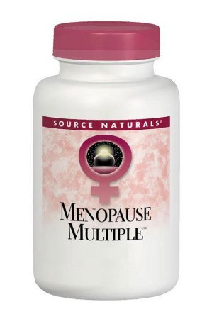 MENOPAUSE MULTIPLE™ - 60 Tabletes - Source Naturals