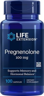 Pregnenolone 100mg 100 Cápsulas - Life Extension