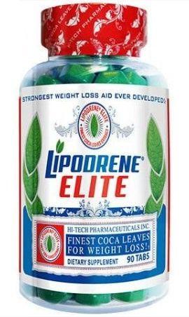 Lipodrene Elite Finest Coca Leaves 90 Comprimidos - Hi-Tech Pharmaceuticals