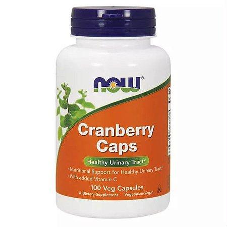 Cranberry com Vitamina C - 100 Cápsulas - Now Foods