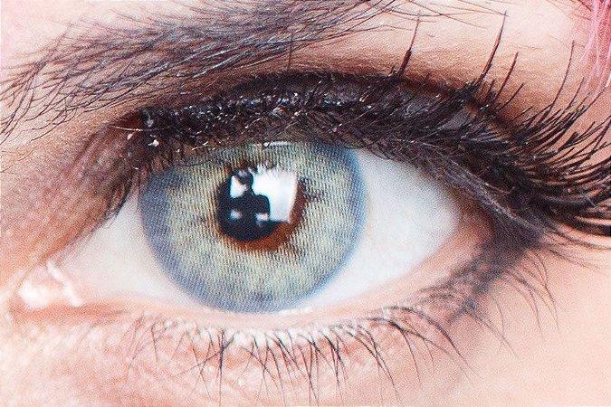 Lente de contato azul - FreshLady Ad Blue