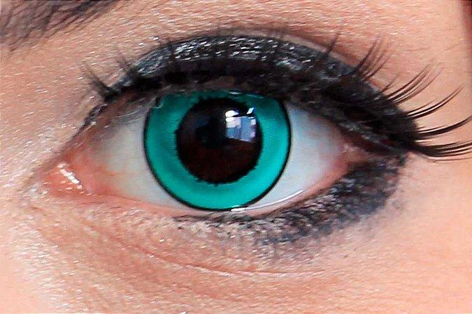 Lente de contato verde - Donut Green