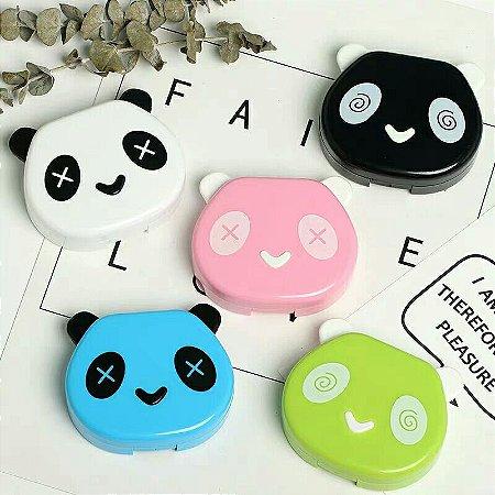 Estojo Case Porta Lentes Panda