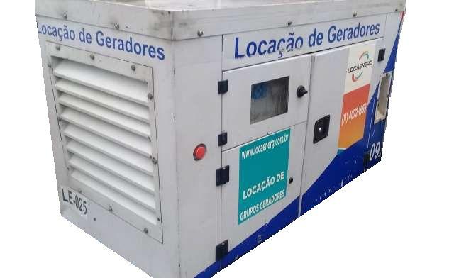 Grupo Gerador a Diesel 22Kva Carenado Marca Yanmar (Seminovo)