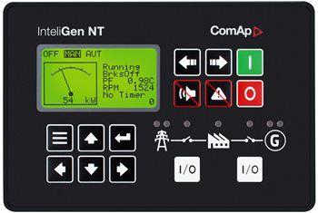 Controlador Comap InteliGen NT - Paralelismo e Transferência em Rampa