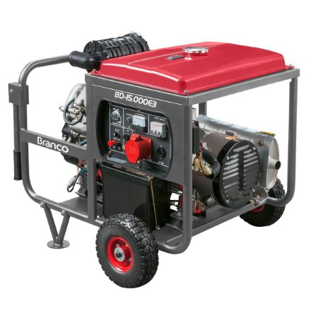 Grupo Gerador a Diesel 14KVA 220V Trifásico Part. Elétrica BD15000 Marca Branco