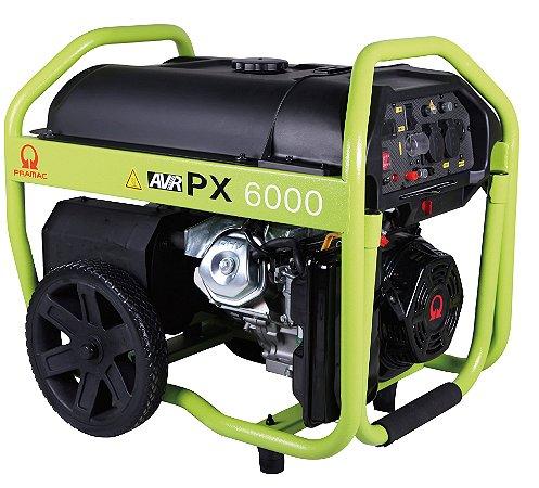 Grupo Gerador Pramac à Gasolina 6,0 kva PX6000