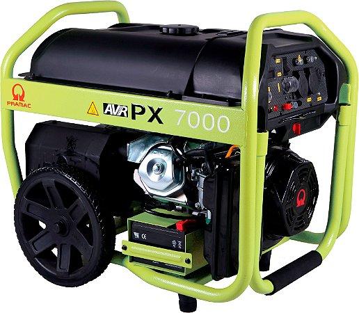 Grupo Gerador Pramac à Gasolina 7,5 kva  WX7500