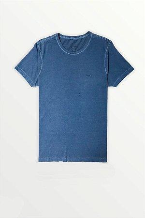 T-Shirt Estonada Lisa Azul