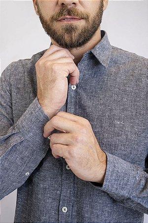 Camisa Linho Atrani Preta
