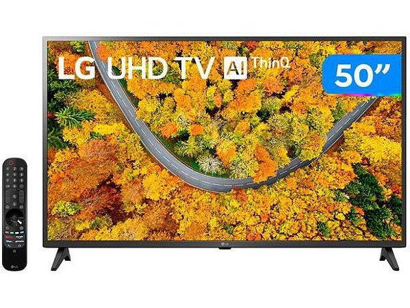 "TV 50"" LED SMART 50UP7550PSF ULTRA HD 4K 2HDMI USB LG"