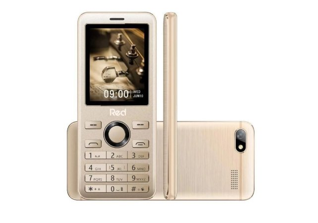 CELULAR RED MOBILE PRIME MF012F DOURADO