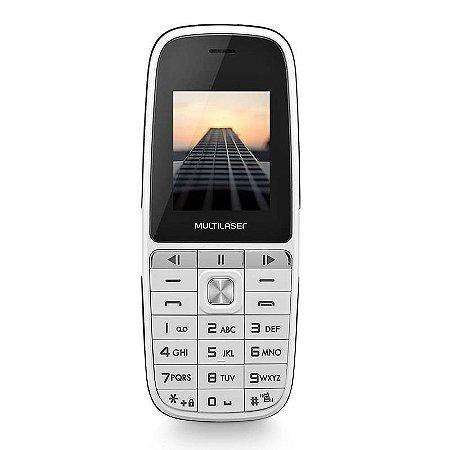 CELULAR UP PLAY P9077 DUAL CHIP MP3 BRANCO