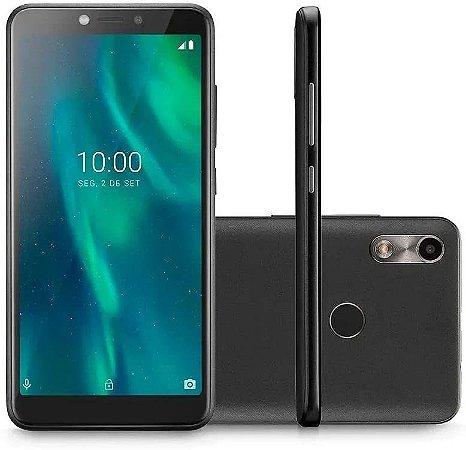 SMARTPHONE F 3G QUAD CORE 16GB DUAL CHIP PRETO NB769