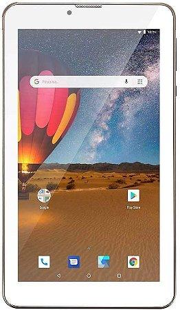 TABLET M7 3G PLUS QUAD CORE 16GB DOURADO NB306