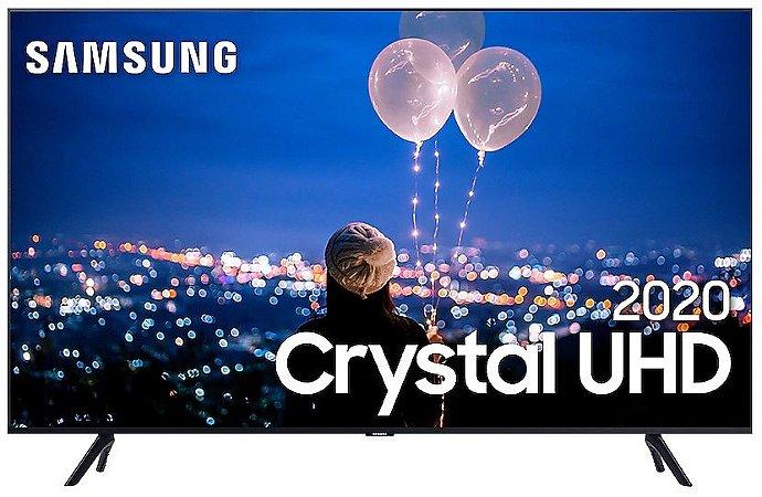"TV 50"" LED CRYSTAL SMART UN50TU8000GXZD UHD 4K 3HDMI 2USB"