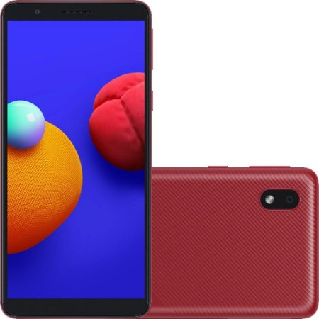 SMARTPHONE GALAXY A01 CORE 32GB VERMELHO