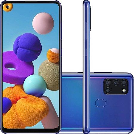 SMARTPHONE GALAXY A21S 64GB AZUL