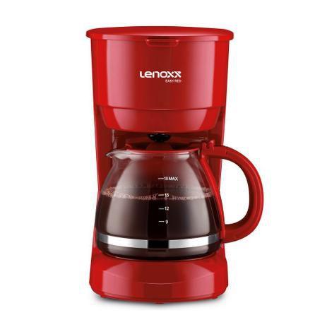CAFETEIRA 18 XÍCARAS EASY RED PCA019 LENOXX