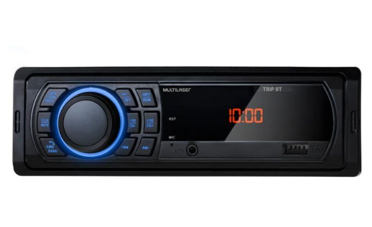 AUTO RADIO 100W RMS BLUETOOTH USB P3344