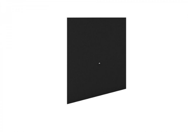 PAINEL LUSIANA 1,20M PRETO FOSCO - RUDNICK