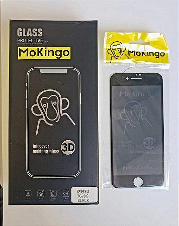 PELÍCULA DE VIDRO 3D MOKINGO IPHONE 7/8 G PRIVATIVA