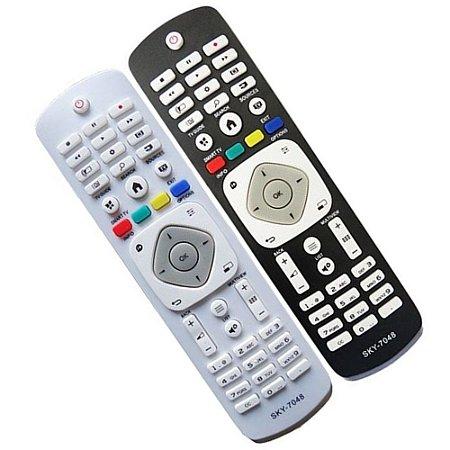 CONTROLE PARA TV LCD PHILIPS SMART NOVA PRETA MOD. 7065