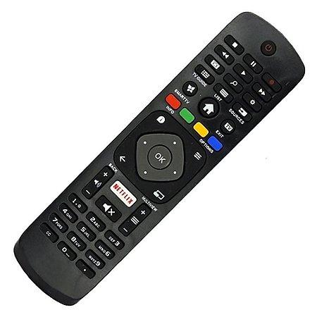 CONTROLE PARA TV LCD SMART PHILIPS NETFLIX NOVO