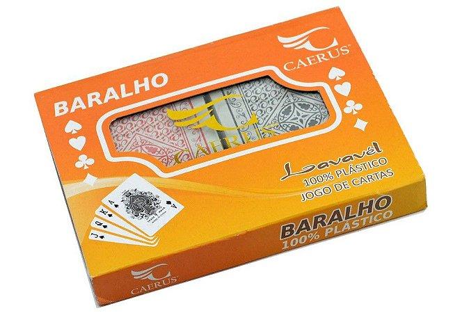 BARALHO DUPLO (PLASTICO)