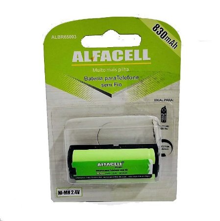 BATERIA ALFACELL P105 2.4V 850MAH TIPO 31