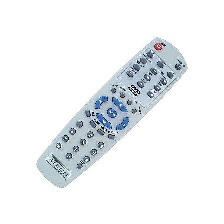 CONTROLE PARA DVD GRADIENTE D10 BRANCO