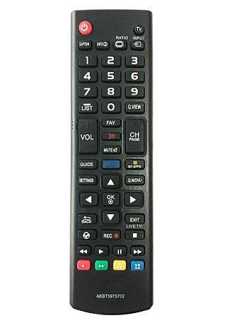 CONTROLE PARA TV LCD LG NOVA 3D E TECLA FUTEBOL