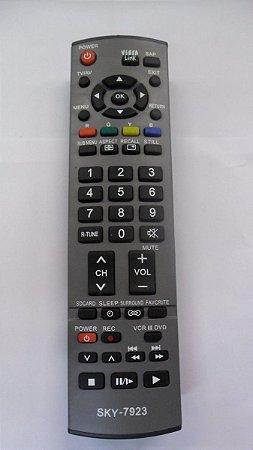 CONTROLE PARA TV LCD PANASONIC CINZA