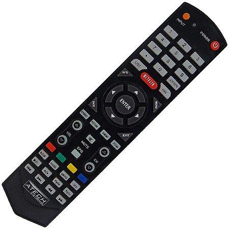 CONTROLE PARA TV LCD TOSHIBA NETFLIX
