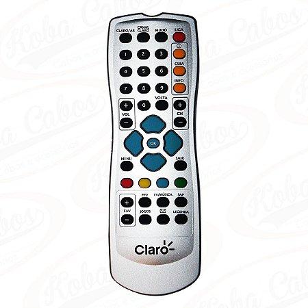 CONTROLE PARA TV POR ASSINATURA CLARO